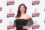 Hayley Atwell Off-the-Shoulder Dress