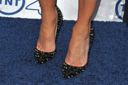 Heather Locklear Studded Heels
