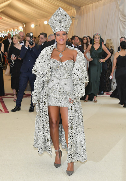 Rihanna In Maison Margiela by John Galliano