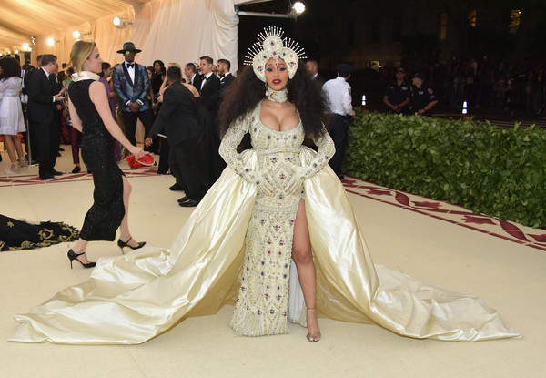 Cardi B In Moschino by Jeremy Scott