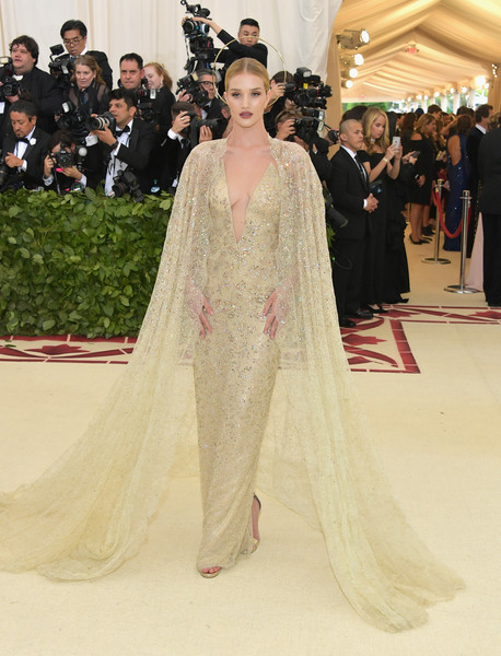 Rosie Huntington-Whiteley In Ralph Lauren Collection
