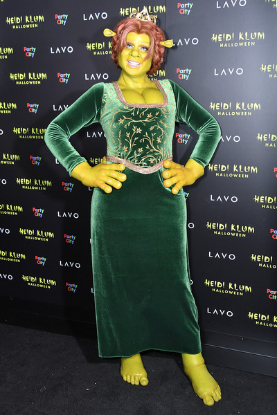 Heidi Klum as Princess Fiona from 'Shrek'