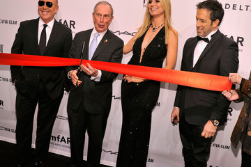 Heidi Klum Michael Kors amfAR New York Gala To Kick Off Fall 2013 Fashion Week - Mercedes-Benz Fall 2013 Ribbon Cutting