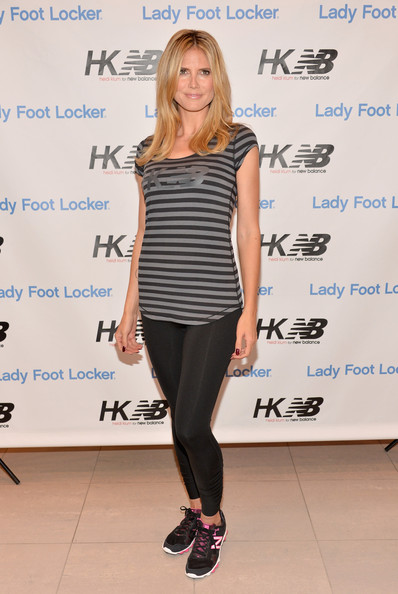 More Pics of Heidi Klum Medium Layered Cut (1 of 44) - Heidi Klum Lookbook - StyleBistro