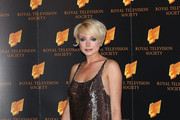 Helen George Beaded Dress
