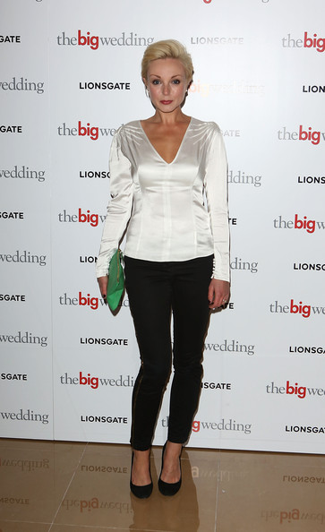 Helen George Skinny Pants