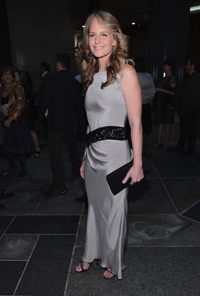 Helen Hunt Sequined Clutch