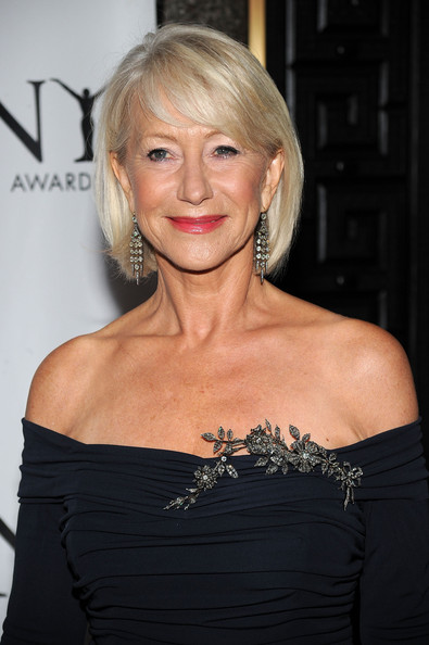 Helen Mirren Diamond Brooch
