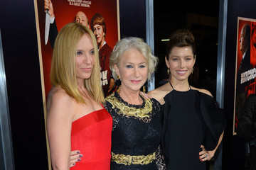 "Helen Mirren Jessica Biel Premiere Of Fox Searchlight Pictures' ""Hitchcock"" - Arrivals"