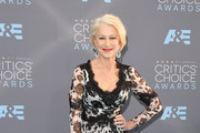 Helen Mirren Print Dress