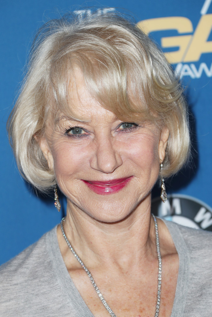 Swell Helen Mirren Short Hairstyles Looks Stylebistro Short Hairstyles For Black Women Fulllsitofus