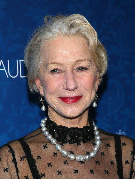 Helen Mirren Messy Cut [the audience,hair,face,blond,hairstyle,head,eyebrow,chin,lip,smile,helen mirren,broadway,new york city,urbo nyc,party,opening night,party]