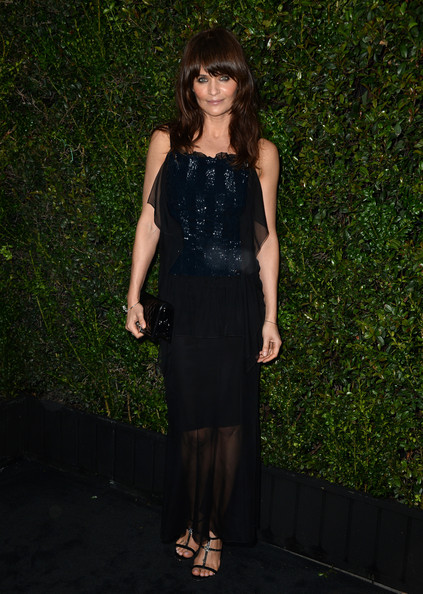 Helena Christensen Evening Dress