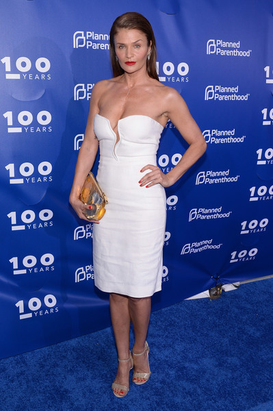 Helena Christensen Strapless Dress
