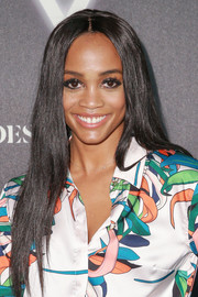 Rachel Lindsay sported a long center-parted hairstyle at the Heroes at the ESPYS event.