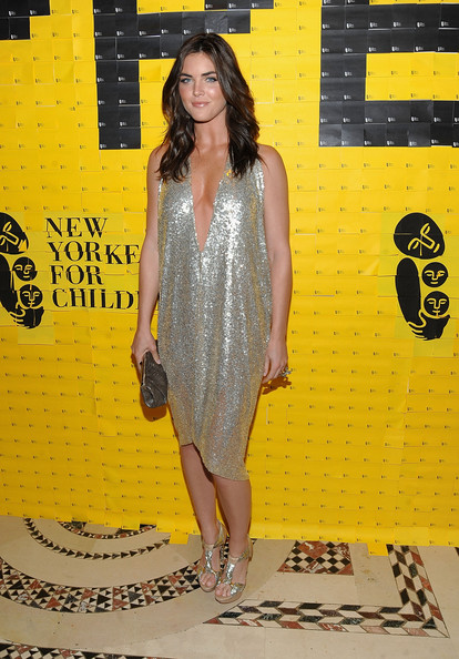 Hilary Rhoda Metallic Clutch