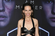 Hilary Swank Leather Purse