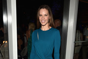 Hilary Swank Satin Clutch