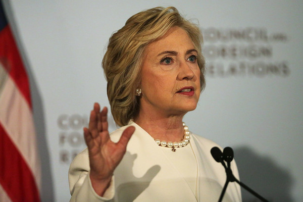 Hillary Clinton Bob [face,spokesperson,public speaking,speech,orator,gesture,adaptation,hand,event,news conference,hillary clinton,hillary clinton delivers national security address,approach,terrorist network,forces,new york,democratic,islamic state,attacks,speech]