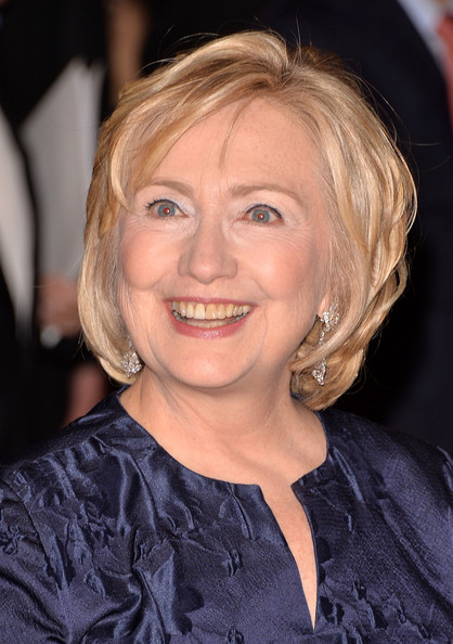 Hillary Clinton Bob [hair,face,hairstyle,blond,chin,eyebrow,layered hair,smile,bob cut,premiere,hillary rodham clinton,queen,the waldorf,sofia spanish institute 2013 gold medal gala,queen sofia spanish institute 2013 gold medal gala,new york city,astoria]