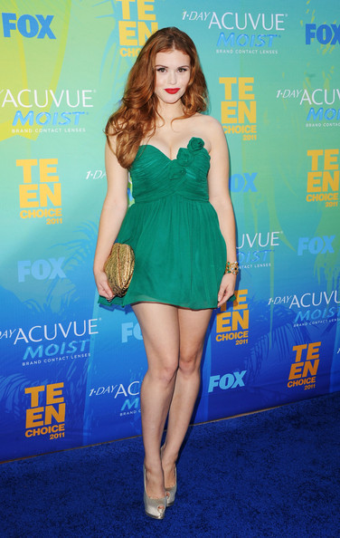 Holland Roden Strapless Dress