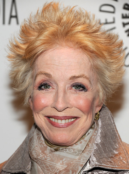 Holland Taylor Spiked Hair [two and a half men,hair,face,hairstyle,eyebrow,blond,chin,skin,head,lip,nose,holland taylor,saban theatre,beverly hills,california,paley center for media,paleyfest]