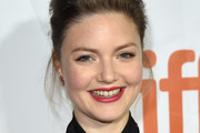 Holliday Grainger Loose Bun