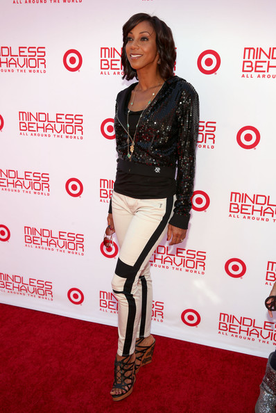 Holly Robinson Peete Sequined Jacket