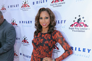 Holly Robinson Peete Print Dress