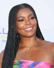 Gabrielle Union rocked long cornrows at the 2019 DesignCare Gala.