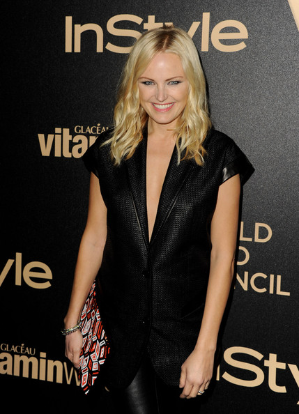 More Pics of Malin Akerman Medium Curls (5 of 5) - Shoulder Length Hairstyles Lookbook - StyleBistro