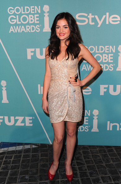 More Pics of Lucy Hale Platform Pumps (1 of 5) - Lucy Hale Lookbook - StyleBistro
