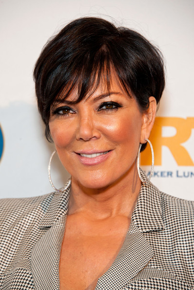 More Pics of Kris Jenner Short Cut With Bangs (2 of 19) - Short ...