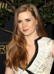 Actress Amy Adams attended The Hollywood Reporter's Big 10 party wearing oxidized sterling silver pavé diamond drop earrings.