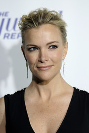 Megyn Kelly attended the Hollywood Reporter's 35 Most Powerful People in Media sporting a mussed-up hairstyle.