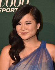 Kelly Marie Tran went glam with these side-swept waves at the Hollywood Reporter Nominees Night.