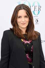 Tina Fey kept it simple with this center-parted layered cut at the Hollywood Reporter's Women in Entertainment Breakfast.