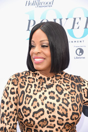 Niecy Nash showed off a flawless bob at the Hollywood Reporter's Women in Entertainment Breakfast.