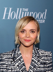 Christina Ricci sported a simple side-parted straight cut at the Hollywood Reporter's Power 100 Women in Entertainment event.