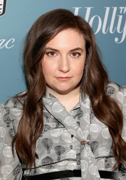 Lena Dunham showed off a gorgeous wavy hairstyle at the Hollywood Reporter's Power 100 Women in Entertainment event.