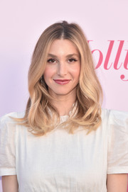 Whitney Port framed her face with a gently wavy 'do for the Hollywood Reporter's Power 100 Women in Entertainment celebration.