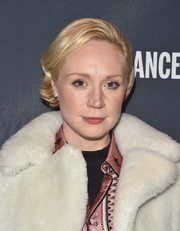 Gwendoline Christie sported a short side-parted 'do with flippy ends at the 2017 Sundance Film Festival kickoff party.