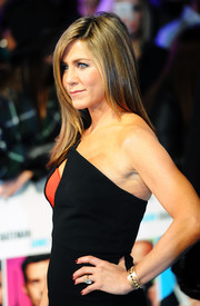 Jennifer Aniston sported an edgy-glam onyx-studded cuff by Irene Neuwirth during the London premiere of 'Horrible Bosses 2.'