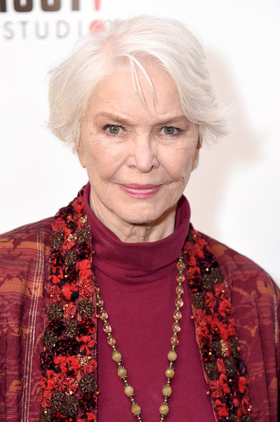 Ellen Burstyn sported a short side-parted 'do at the New York special screening of 'The House of Tomorrow.'