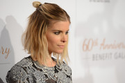 Kate Mara pulled her mid-length bob up into a half-up half-down style for the Humane Society gala.