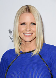 Carrie Keagan looked very trendy with her layered lob at the Humane Society of the United States' To The Rescue Gala.