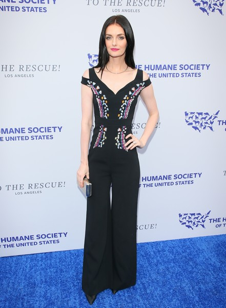 More Pics of Lydia Hearst Jumpsuit (1 of 3) - Suits Lookbook - StyleBistro