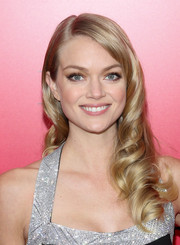 Lindsay Ellingson looked oh-so-sweet and lovely with her ultra-feminine curls at the 'Catching Fire' NYC premiere.
