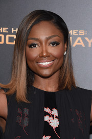 Patina Miller attended the 'Hunger Games: Mockingjay - Part 2' New York premiere wearing her hair in a simple lob.