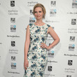 In A Floral Dress At The 2015 Gotham Independent Film Awards